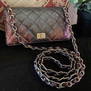 Chanel Leather WOC Wallet Crossbody Bag CUSTOM
